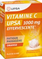 Vitamine C Upsa Effervescente 1000 Mg, Comprimé Effervescent à GRENOBLE